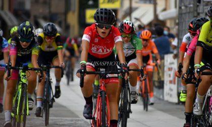 Ciclismo: cesanesi frenate dal temporale