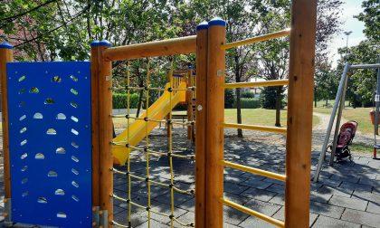 A Lissone nuovi giochi nei parchi per bambini ECCO DOVE