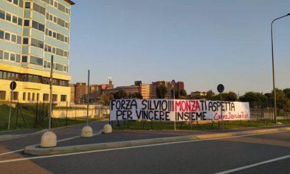 I tifosi del Monza al San Raffaele da Berlusconi