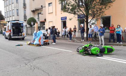A Seregno incidente con la moto, 32enne in ospedale