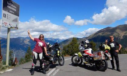 """Giussano, la """"postina"""" dell'Aido in moto per 7500 km"""