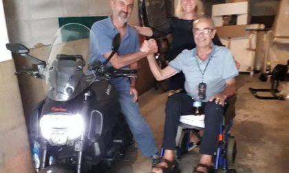 Prima di morire dona la sua moto per aiutare i malati di Covid