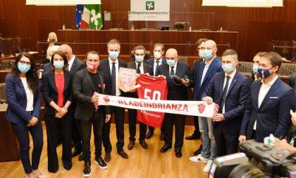Il Monza premiato in Consiglio regionale per la promozione in Serie B