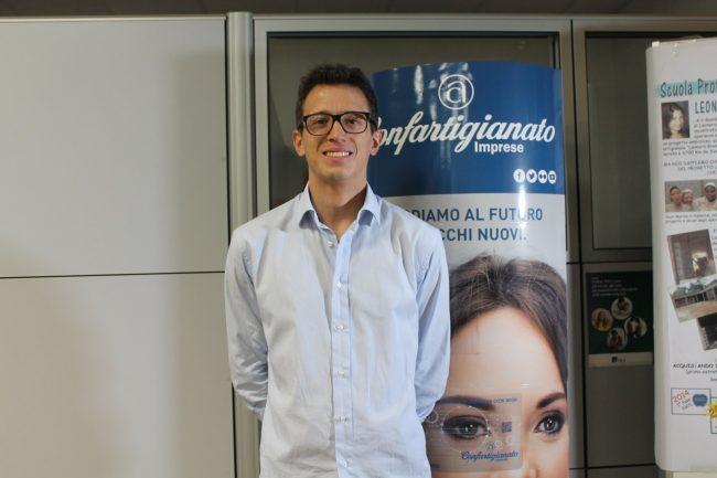 Francesco Figini presidente del Gruppo Giovani di Apa Confartigianato imprese Milano Monza Brianza