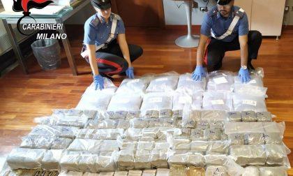 Carabinieri sequestrano 136 kg di droga