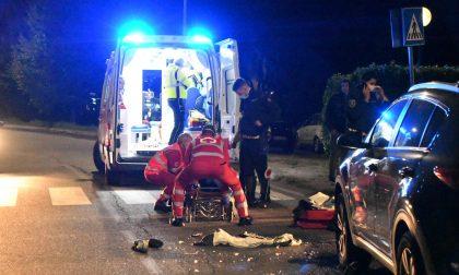 Scontro auto moto in via Baradello: motociclista 45enne in ospedale FOTO VIDEO