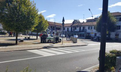 Seveso: 39enne in ospedale dopo un incidente in corso Marconi FOTO