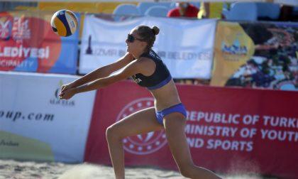 Quarto posto agli europei per la busnaghese del beach volley