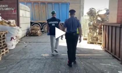Sequestrato a Limbiate un impianto di trattamento rifiuti VIDEO