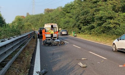 Incidente sulla Valassina, traffico in tilt