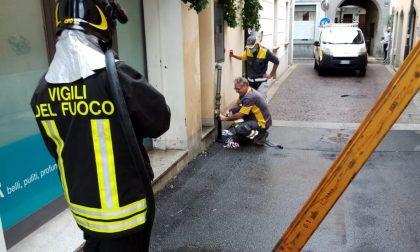 Residenti evacuati per una fuga di gas FOTO