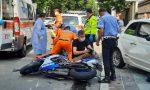 Violento schianto in moto davanti all'ospedale, 26enne ferito FOTO