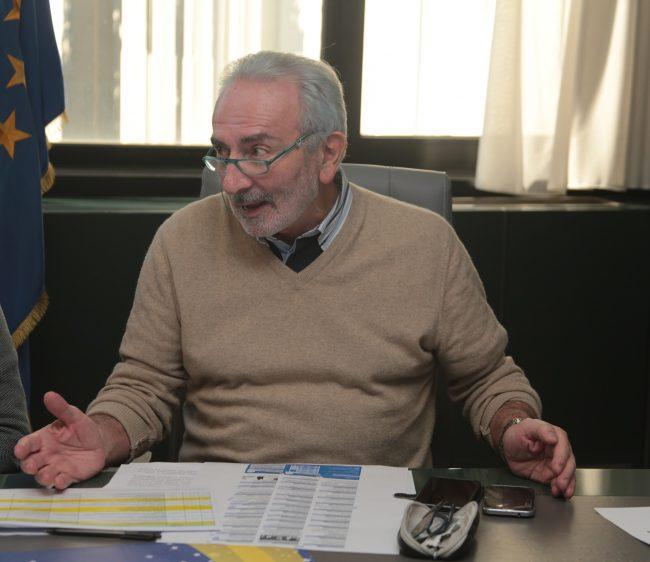 L'assessore Renzo Perego