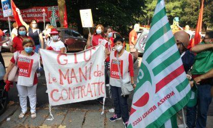 Sciopero della sanità privata e presidio a Monza