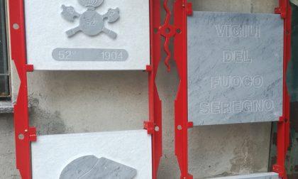 Un monumento per rendere omaggio ai Vigili del Fuoco