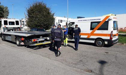 Sequestrata un'ambulanza a Meda FOTO