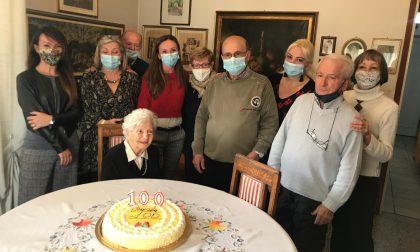 Una vita spesa per la casa, i figli e i nipoti: tanti auguri alla centenaria Carolina Farina