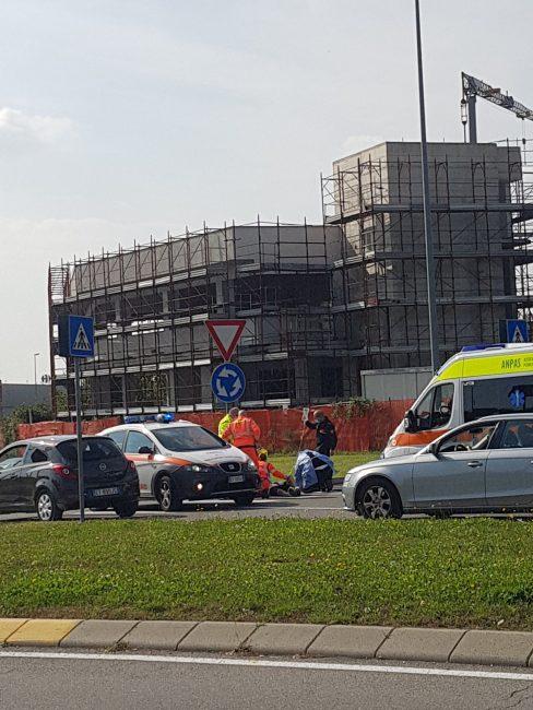 incidente in via Prealpi a Giussano