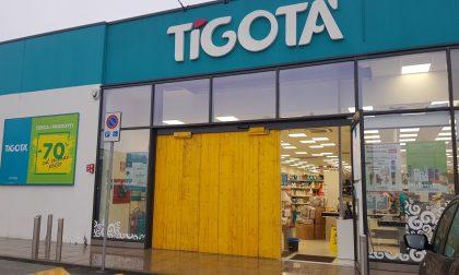 Arcore, furto con spaccata alle vetrine di Tigotà