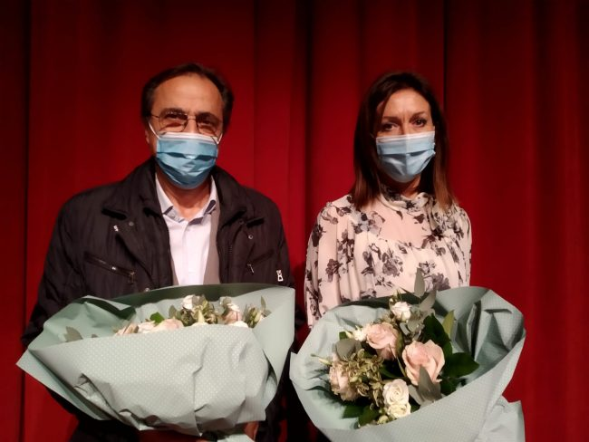 Franco Stasi ed Elena Farina