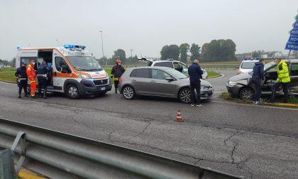 Agrate: incidente stradale sulla Sp13 Monza Melzo FOTO