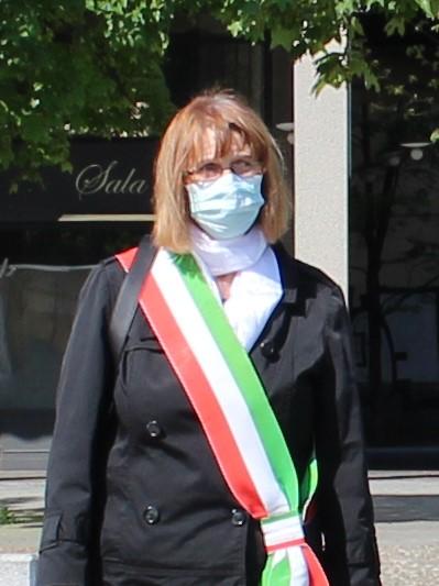 Il sindaco Concetta Monguzzi