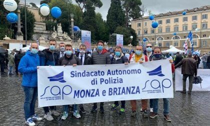 """Poliziotti in corteo a Roma per dire """"Basta aggressioni"""""""