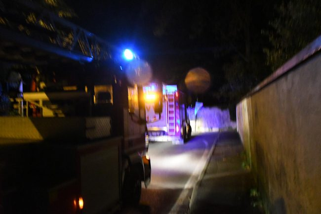 I soccorritori intervenuti a Biassono