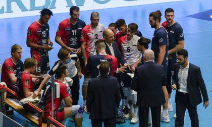 Vero Volley Monza, esonerato l'allenatore