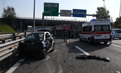 Incidente in Tangenziale Nord: traffico bloccato all'altezza di Monza FOTO VIDEO
