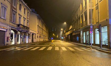 Monza deserta nella prima notte di coprifuoco FOTO