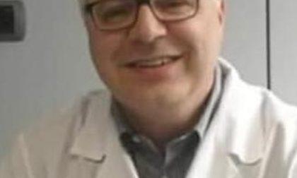 Giussano, rosa d'oro al dottor Alberto Pollini, morto a causa del Covid