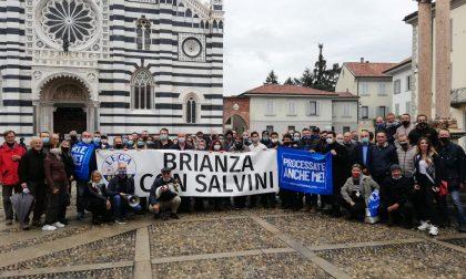 La Lega brianzola al fianco di Matteo Salvini
