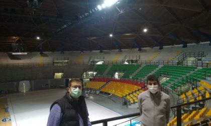 PalaBancoDesio: in corso i lavori per sistemare il tetto e le luci
