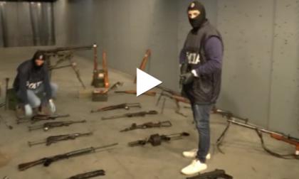 Traffico di armi comuni e da guerra: perquisizioni e arresti anche in Brianza
