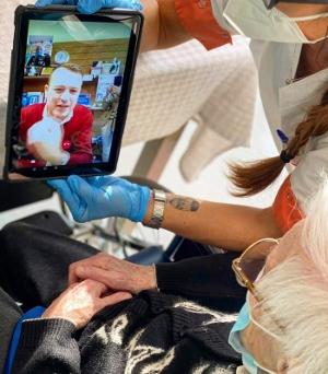 Auguri a distanza per la centenaria di Ceriano Laghetto Severina Vismara