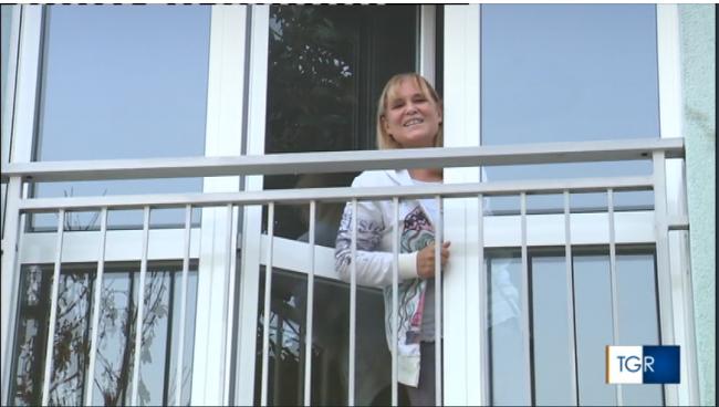 Teresa Conte veranese al Covid Hotel di lodi