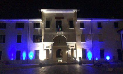 Il Municipio di Concorezzo si colora di blu