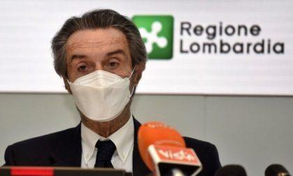 """Covid Lombardia, Fontana """"Ricoveri in lieve flessione. Segnale di miglioramento"""""""