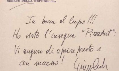 """Conte scrive ai ragazzi di PizzAut: """"Vi auguro di aprire presto"""""""