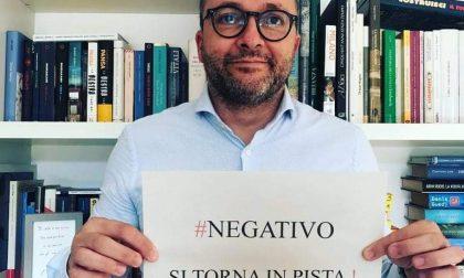 Tampone negativo, fine dell'isolamento per il sindaco di Concorezzo