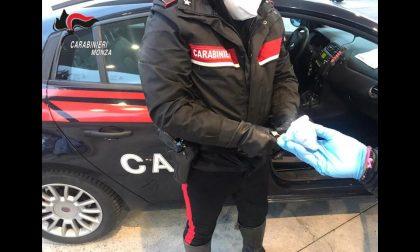 Arrestato 61enne, droga in auto e positivo al Covid