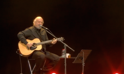 Emozioni in streaming: grande successo per il concerto di Eugenio Finardi