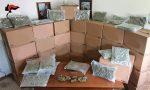 Sequestrati 276 chili di marijuana per un valore di oltre un milione di euro
