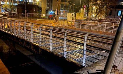 Finalmente il Ponte Colombo prende forma