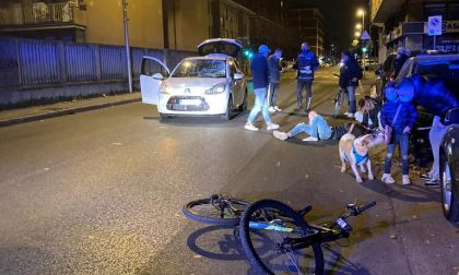 Ragazzo investito in bicicletta finisce in ospedale