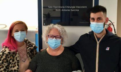 La sala operatoria dedicata al dottor Sarcina