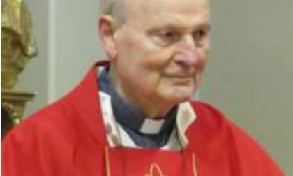 Besana piange monsignor Giuseppe Longhi