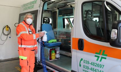 Benefattore anonimo dona un igienizzatore ai volontari del 118