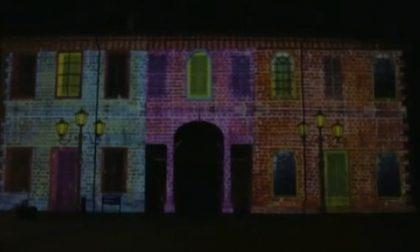 Il videomapping accende il Natale arcorese